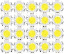 24 unids un lote 3W 5W 7W 10W LED Fuente de fuente