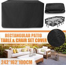 242x162x100cm Fundas impermeables para muebles de
