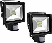 2X 30W SMD Foco LED con Sensor