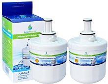2x AH-S3F filtro de agua compatibles para Samsung