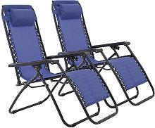2x Sillas de jardín plegables, silla de camping