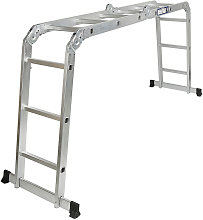 3,6M Escalera de aluminio multiusos Plegable