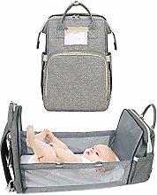 3-en-1Convertible Baby Pañalera, Cuna portátil