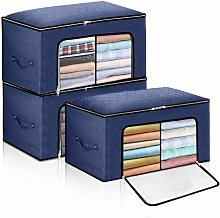 3 Piezas de Cajas de Almacenamiento de Armario,