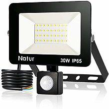 30W 3000LM Foco LED con Sensor de Movimiento