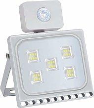 30W Foco LED con Sensor de Movimiento, Proyector