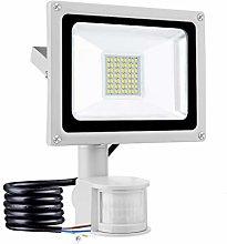 30W Foco LED con Sensor Movimiento, IP65