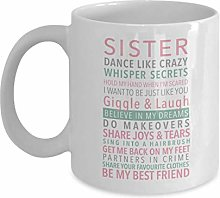 330ml Tazas té Tazas Sister: Dance Like Crazy