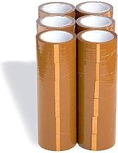 (36x) Cinta Adhesiva Marrón  Precinto marrón