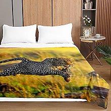 3D Leopardo Colcha de Verano, Chickwin Impresión