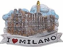 3D Milan Italia Refrigerador Imán Recuerdos