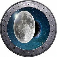 3D ojo de buey vista espacio planetas Luna