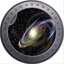 3D ojo de buey vista espacio planetas Luna tierra