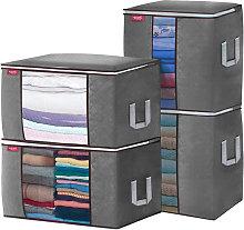 4 bolsas de almacenamiento de ropa organizador de