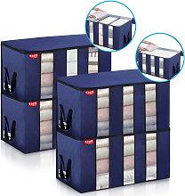 4 Bolsas de Almacenamiento para Guardar Ropa,
