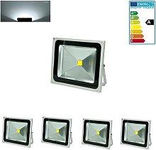 4 Foco proyector LED reflector faro lámpara