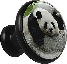 4 Paquetes De Perillas De Metal Para Cajones Panda