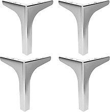 4 patas de metal para muebles, patas de mesa de