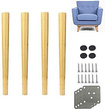 4 patas de sofá de material de madera, para cama,