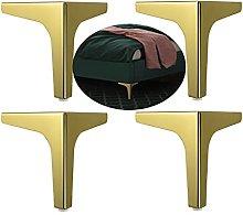 4 Piezas Patas de Mueble Triangulares Pies de