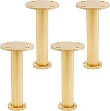 4 piezas Pies De Muebles De Cobre Puro, Adecuados