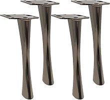 4 Piezas Pies de Muebles de Metal,Moderno Sofá