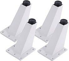 4 triangulares pies de muebles,aleación de
