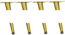 4 unids/set patas de muebles patas de metal
