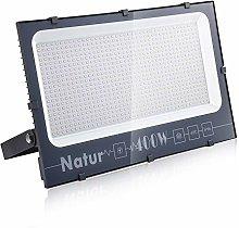 400W Foco LED Exterior, Natur Alto Brillo 40000LM
