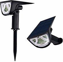 43 LED jardín luz paisaje Solar césped al aire