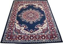 4480 Alfombra oriental clásica de estilo persa,