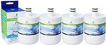 4x AquaHouse AH-L5P filtro de agua compatibles