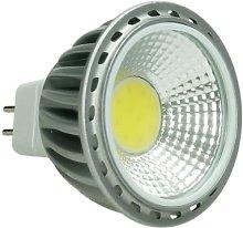4x LED Spot 6W COB GU10 - Equivale 40W Halógeno -