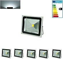 5 Foco proyector LED reflector faro lámpara