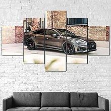5 Piezas Cuadro sobre Lienzo De Fotos Audi A5