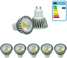 5 x LED Spot - Equivale 20W Halógeno - 220-240V -