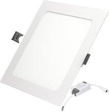 50 x Foco ultradelgado empotrable LED panel 12W