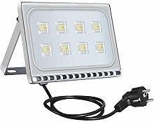 50w Foco Proyector LED Ultra Plano para exterior,