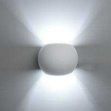 5w Lámpara de Pared Redonda Creativa Aplique de