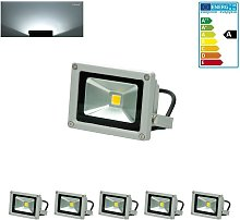 5x Foco proyector LED reflector pared exterior