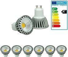 6 x LED Spot - Equivale 20W Halógeno - 220-240V -