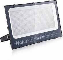 600W Foco LED Exterior, Natur Alto Brillo 60000LM