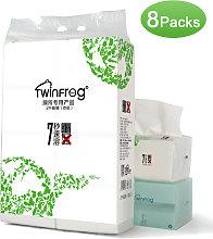 8 paquetes de 2 capas de toallas de papel de