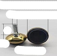 8 piezas de acero inoxidable ajustable pie de