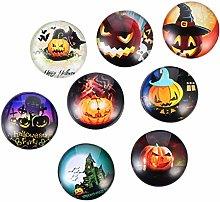 8 piezas imanes de nevera de Halloween imanes de