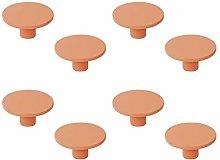 8 unidades tirador pomo mueble resina abs pintado