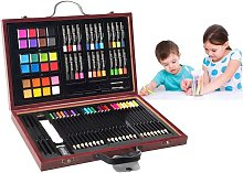 80 Piezas Caja Pinturas Niños Caja de Papelería