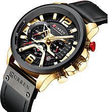 8329 Reloj de cuarzo para hombres de negocios