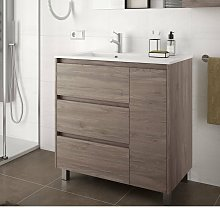 85122 ARENYS 855 Mueble+Lavabo Roble Eternity -