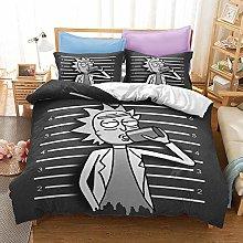 Aatensou Rick and Morty - Juego de ropa de cama